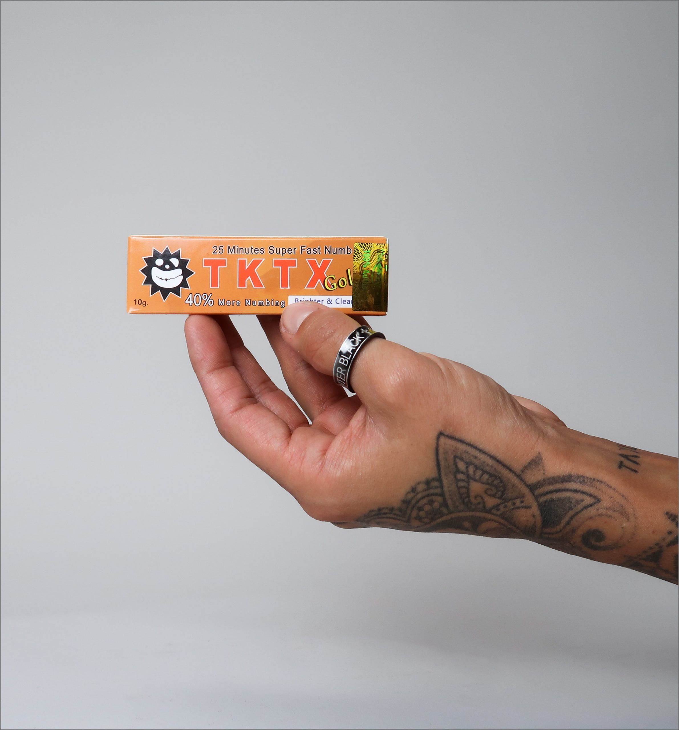 What is the strongest TKTX numbing cream?